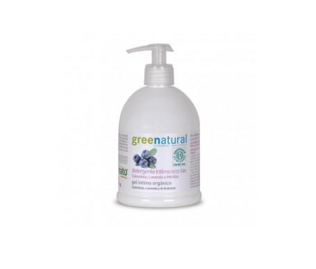 Greenatural Gel íntimo suave  con caléndula, lavanda y arándanos 500ml