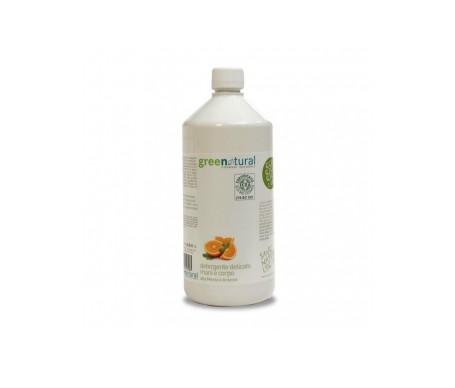 Greenatural Jabón líquido suave con menta y naranja 1000ml