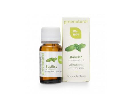 Greenatural  Aceites esenciales orgánicos de albahaca 10ml