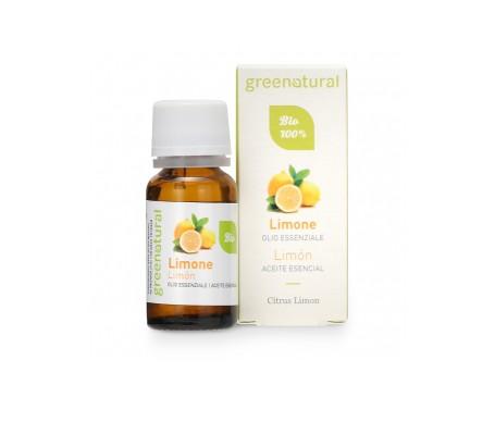 Greenatural  Aceites esenciales orgánicos de limón 10ml