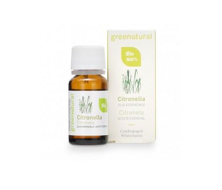 Greenatural  Aceites esenciales orgánicos de citronela 10ml