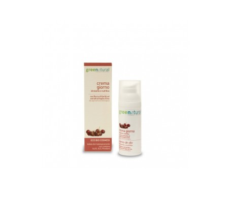 Greenatural  Crema De Dia  50 Ml Airless