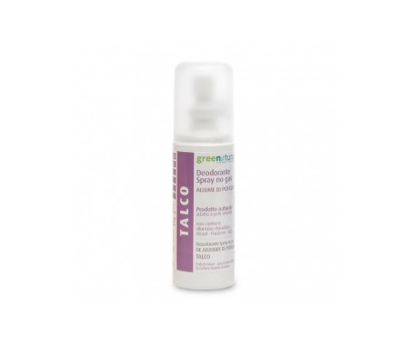 Greenatural  Desodorante Spray Talco   100 Ml