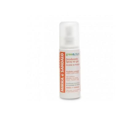 Greenatural  Desodorante Spray Mirra Y Sandalo 100ml
