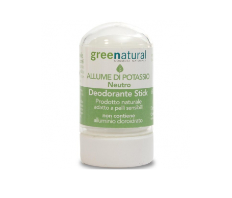 Greenatural  Desodorante Stick De Alumbre 6g