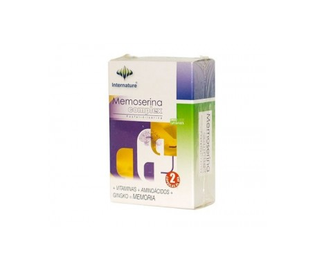 Internature Memoserina Complex 30 Cap