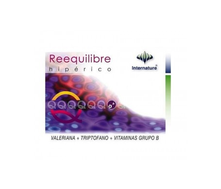 Internature Reequilibre 60cap