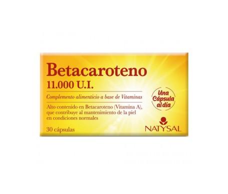 Natysal  Betacaroteno 30cáps