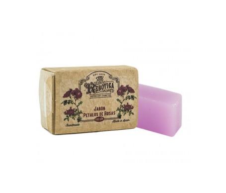Mi Rebotica jabón de tocador pétalos de rosa 100g