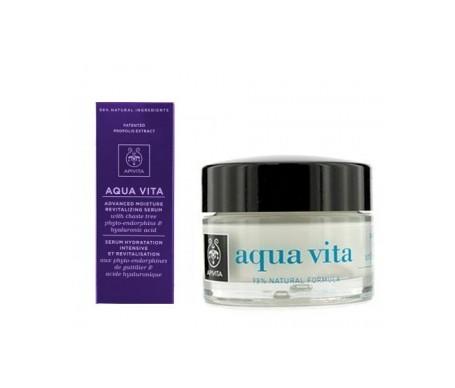Apivita Aqua Vita Serum 30ml+hidratante piel normal-seca 50ml