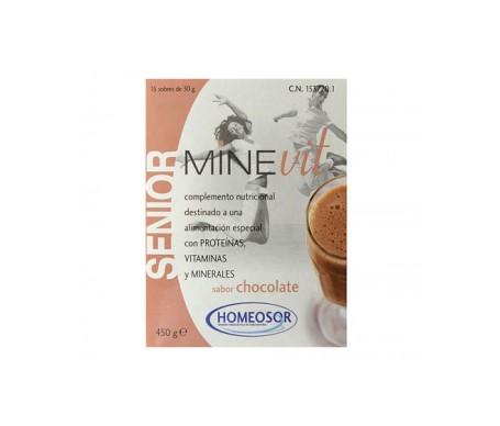 Minevit Senior Chocolate 15 Sobres