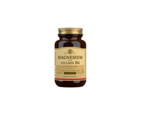 Solgar Magnesio+ B6 100 Tab