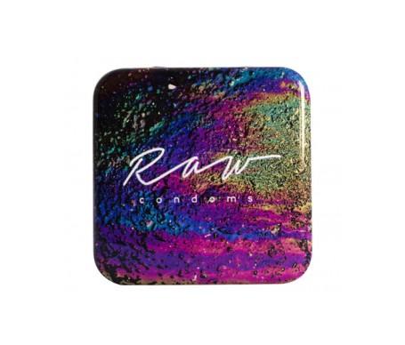 Raw condoms™ Berrylicious Preservativos Fresa Ultrafino 3uds