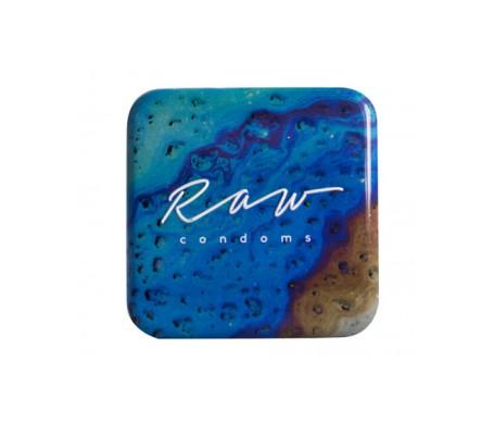 Raw condoms™ Amplified Preservativos XL Ultrafino 3uds