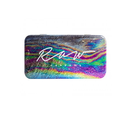 Raw condoms™ Normal Preservativos Ultrafinos	Lisos 10uds