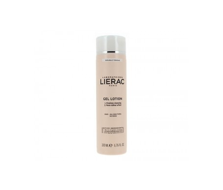 Lierac Make-up remover gel lotion 200ml