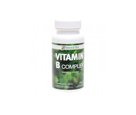 Natural Diet Vitamina B Complex Nd167 30 Comp