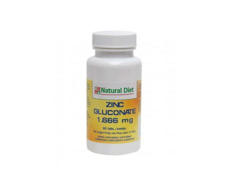Natural Diet Zinc Gluconate Nd191 60 Comp