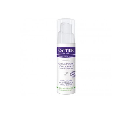 Cattier Serum Matificante Reequilibrante 30ml