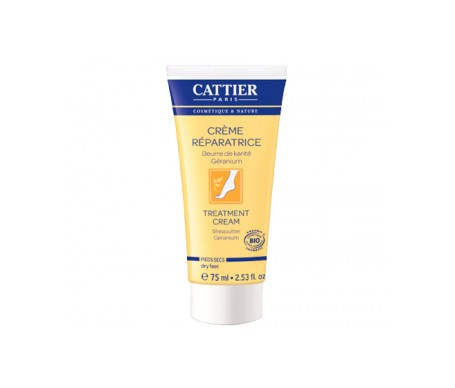 Cattier Crema Reparadora Pies Secos 75ml