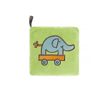 Fashy Cojín De Semillas Elefante (verde)