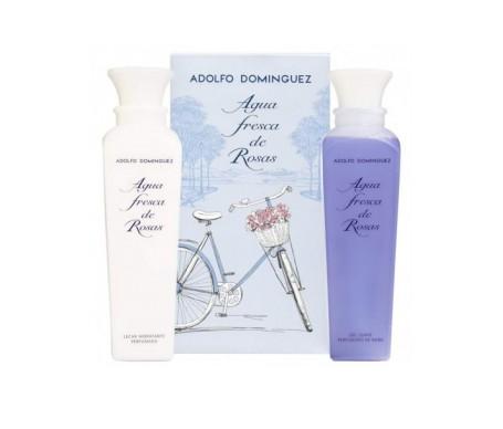 Adolfo Dominguez Agua Fresca De Rosas Shower Gel 500ml+perfumed