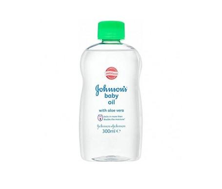 Johnson's Baby Aceite Con Aloe Vera 300ml