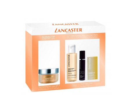 Lancaster Suractif Comfort Lift Rich Day Cream 50ml + Serum 10ml