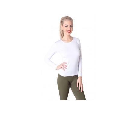 Anaissa Camiseta  Termal Lote De 2 Unidades Color   Blanco L