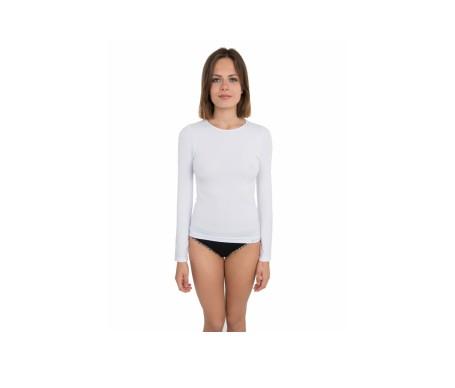 Anaissa Camiseta Manga Larga Skin Line Blanco L