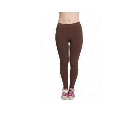 Anaissa Legging Basic Push Up Marrón S