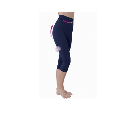 Anaissa Legging  Capri Push Up Emana Azul L