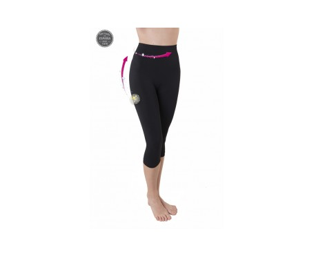 Anaissa Mamimum Pantalón Pirata Post Parto Push Up Shaper Negro XL