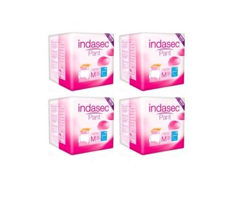 Indasec® Pant Plus talla media 6x12uds+6uds