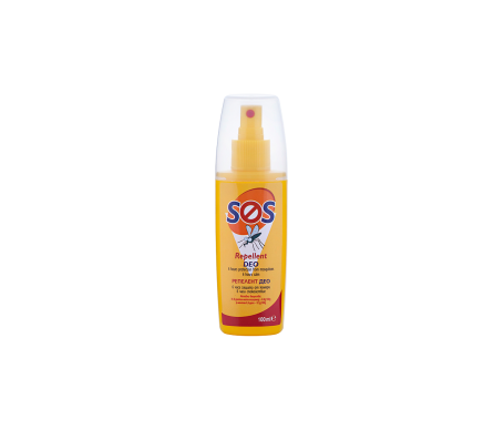 Sos Deo Spray Repelente Antimosquitos Y Otros Insectos 100 Ml