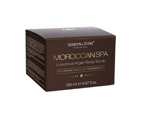Simon & Tom™ Spa Marroquí Exfoliante corporal de argán 200ml