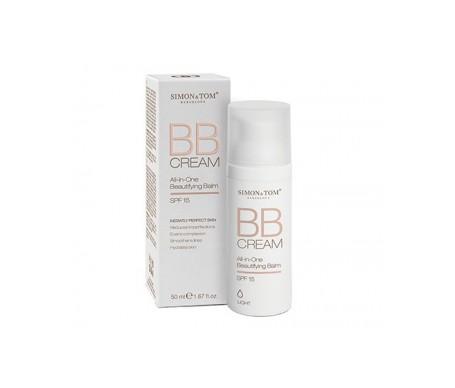 Simon & Tom䋢 BB All-in-one Cream Embellishing Balm SPF15+ 50ml