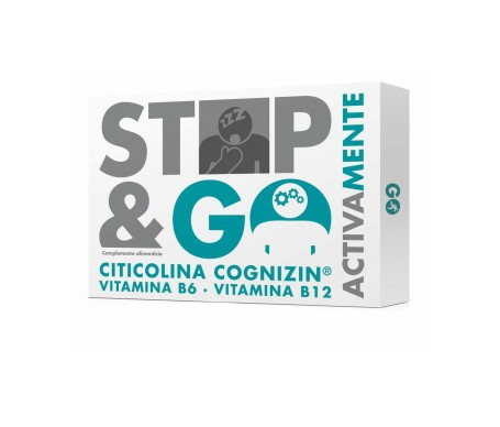 STOP&GO ActivaMente Citicolina Sabor cola 14 sticks