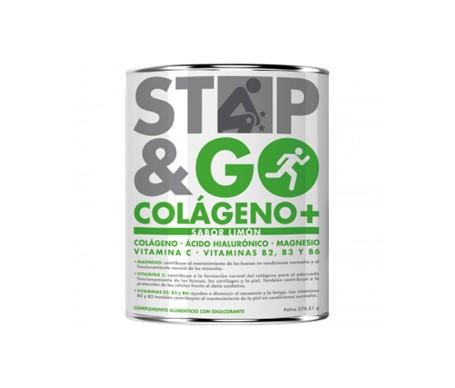 STOP&GO Colágeno+ Sabor limón 375 g
