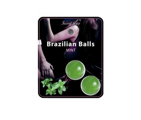 Secret Play Brazilian Balls aroma a menta 8g