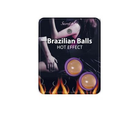 Secret Play Brazilian Balls Efecto Calor 8g