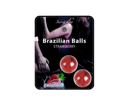 Secret Play Brazilian Balls aroma a fresa 8g