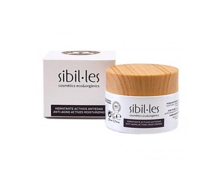 Sibil·les  Crema hidratante activos anti-edad 50ml