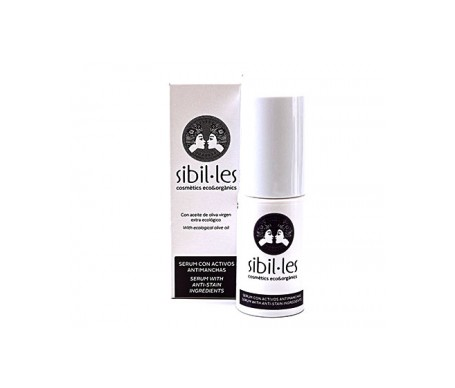 Sibil·les  Sérum con activos antimanchas 30ml