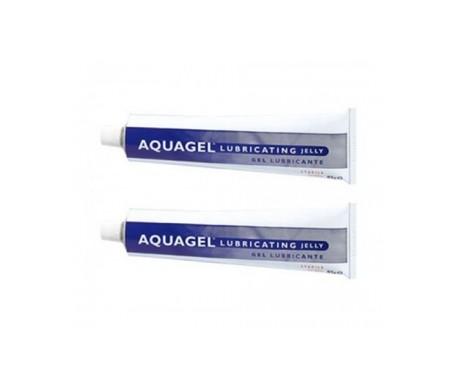 Aquagel gel lubricante 82 g 2x1