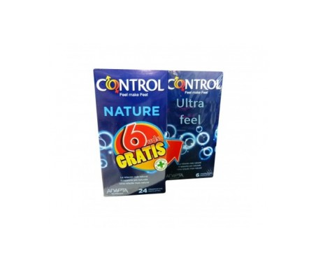 Control Nature 24uds + regalo Ultrafeel 6uds