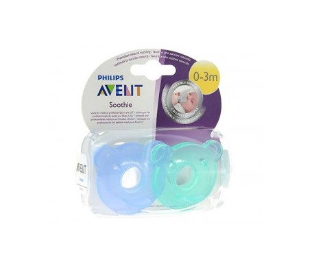 Philips Avent Tetina Soothie 3m+ 194/04