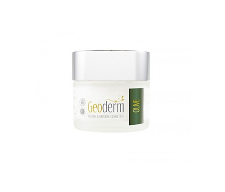 Geoderm Crema Facial Ecológica Anti Edad Sensitive Oliva 50 Ml