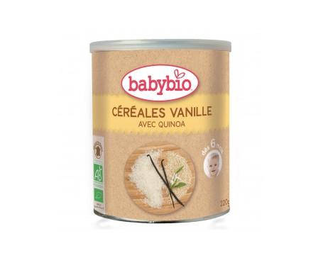 Babybio  Preparado Ecológico De Cereales Con Vainilla 220g