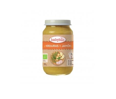 Babybio Tarrito Ecológico De Verduras Y Jamón 200g
